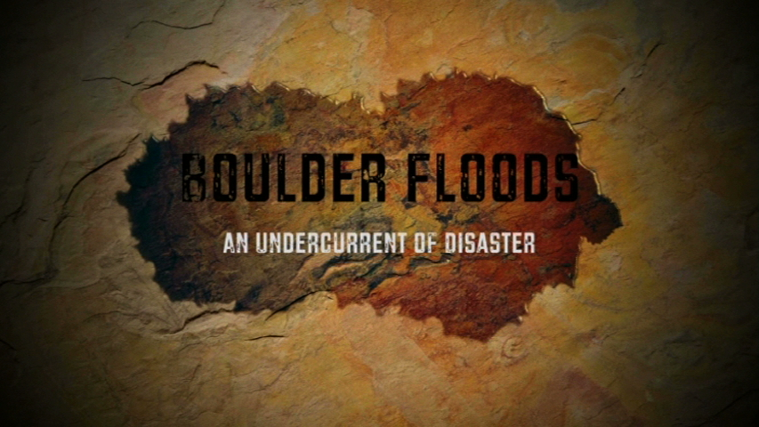 Boulder Floods title card