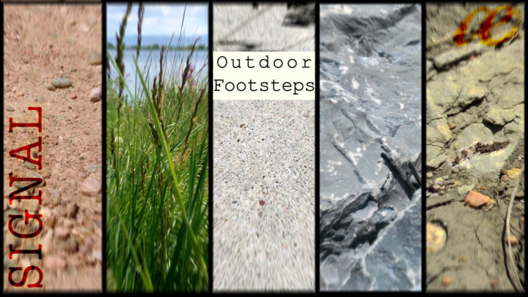 Outdoor Footsteps cover