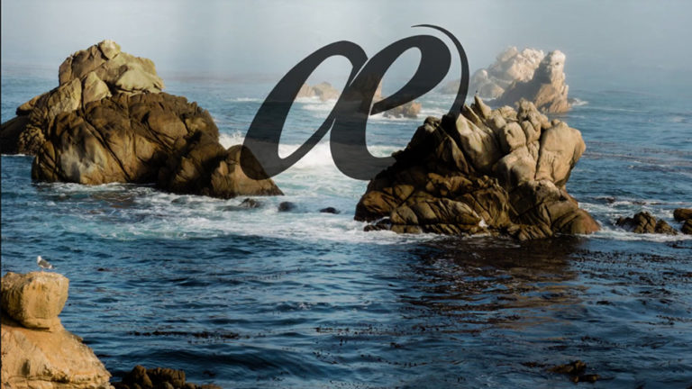 Solace - Pacific Ocean on Rocks